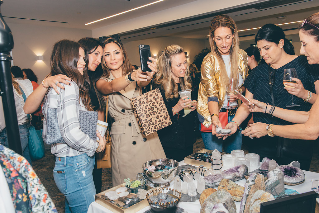 Marketplace Events - Discover meaningful commerce and connections in a fun setting. A modern shopping experience, shop over 15 hand-picked brands in one evening paired with local bites and craft cocktails.