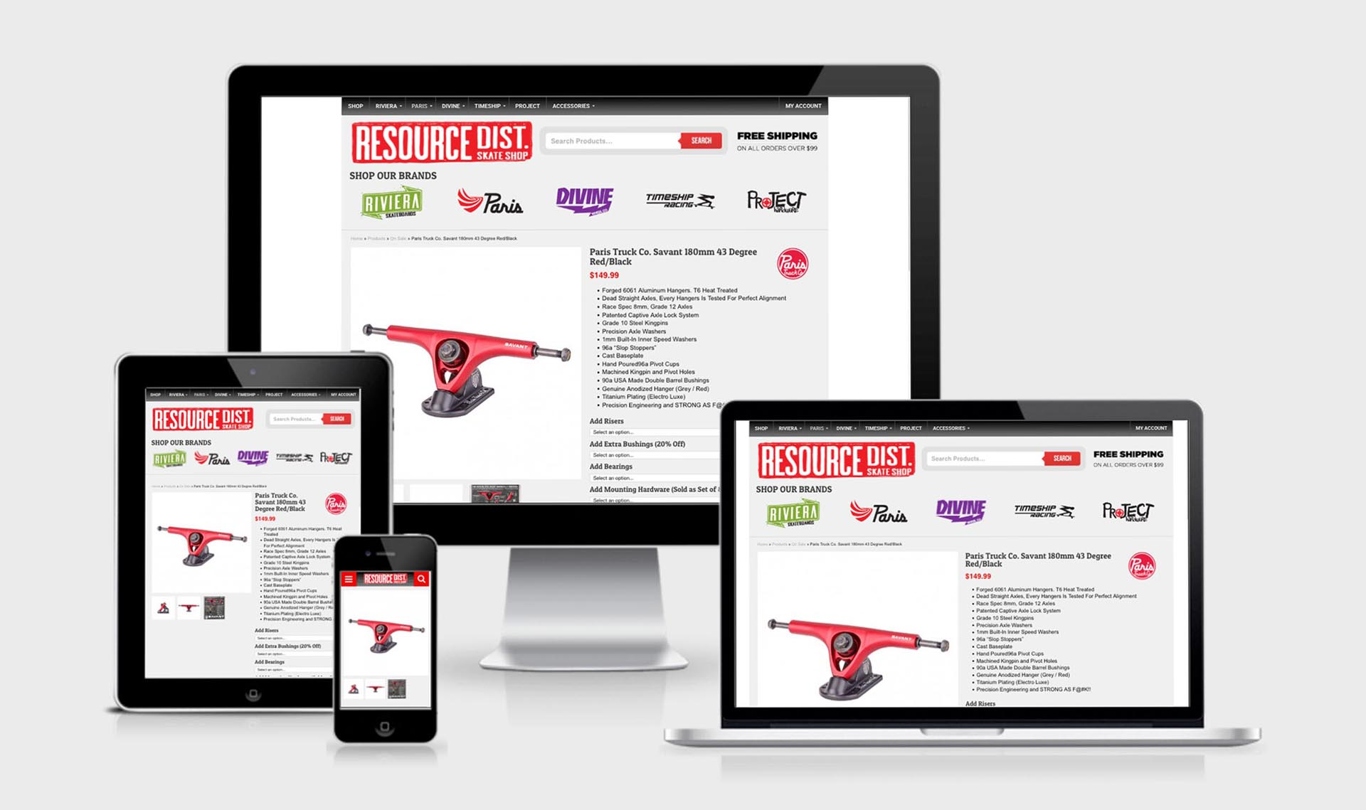 Resource B2C Product Page