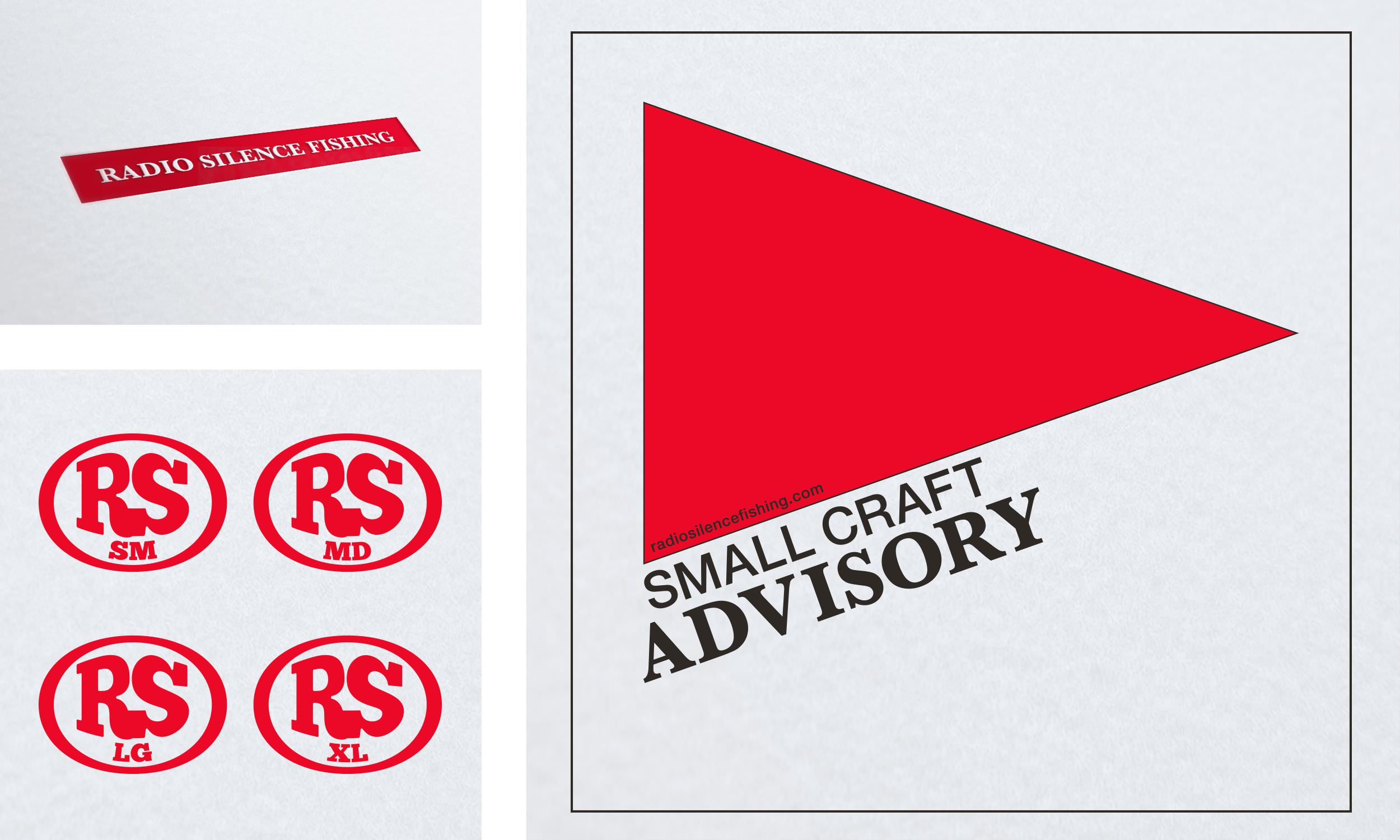 Small Craft Advisory - Front Hit, Back Hit, and Size Tags