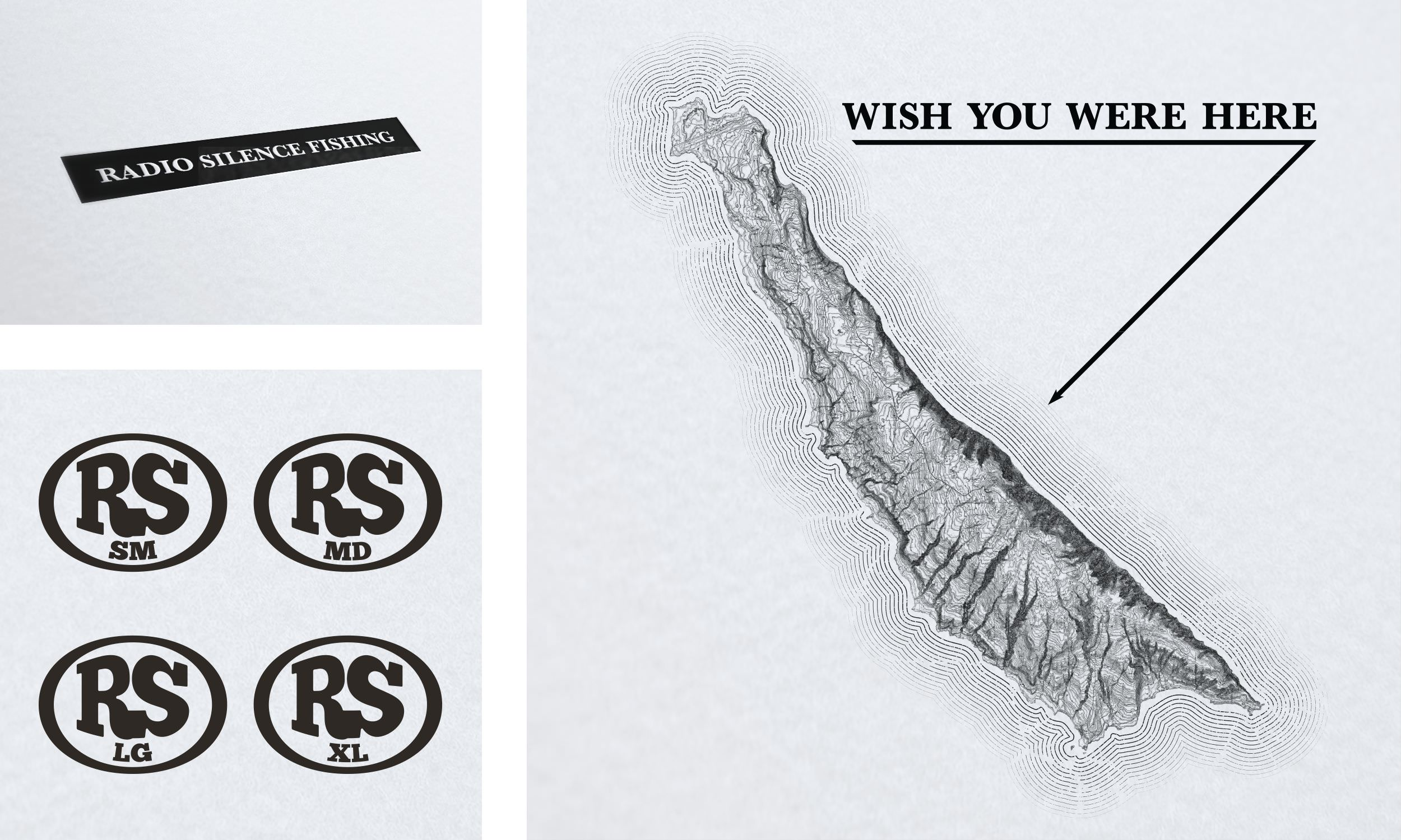 Wish You Were Here - Front Hit, Back Hit, and Size Tags