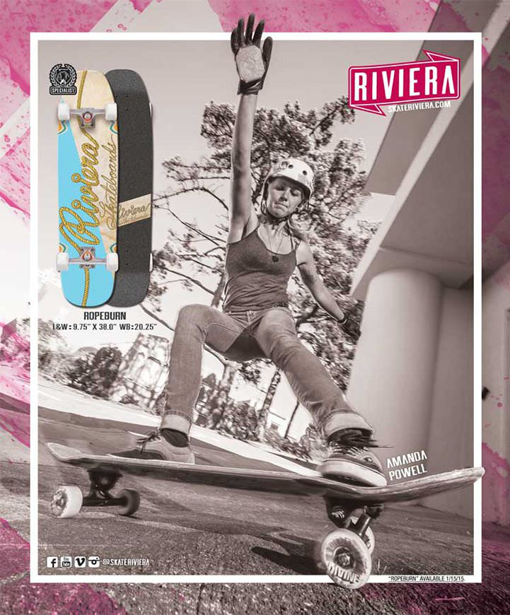 Riviera Skateboards Ads Style, Form & Function - Amanda