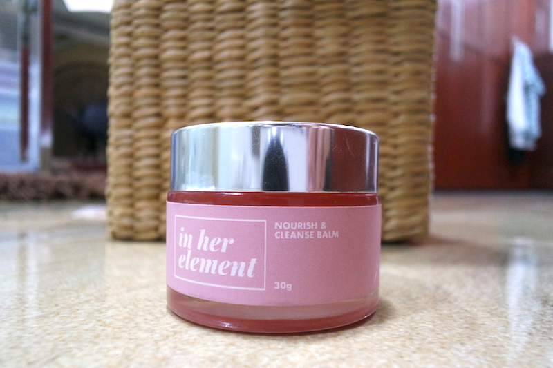 in her element nourish and cleanse balm