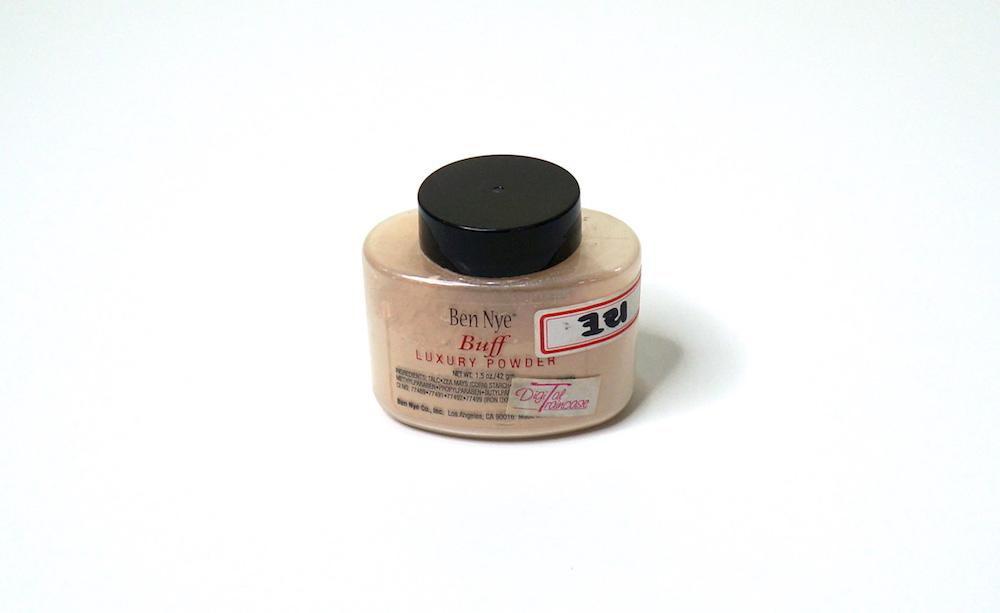 ben nye luxury powder in buff