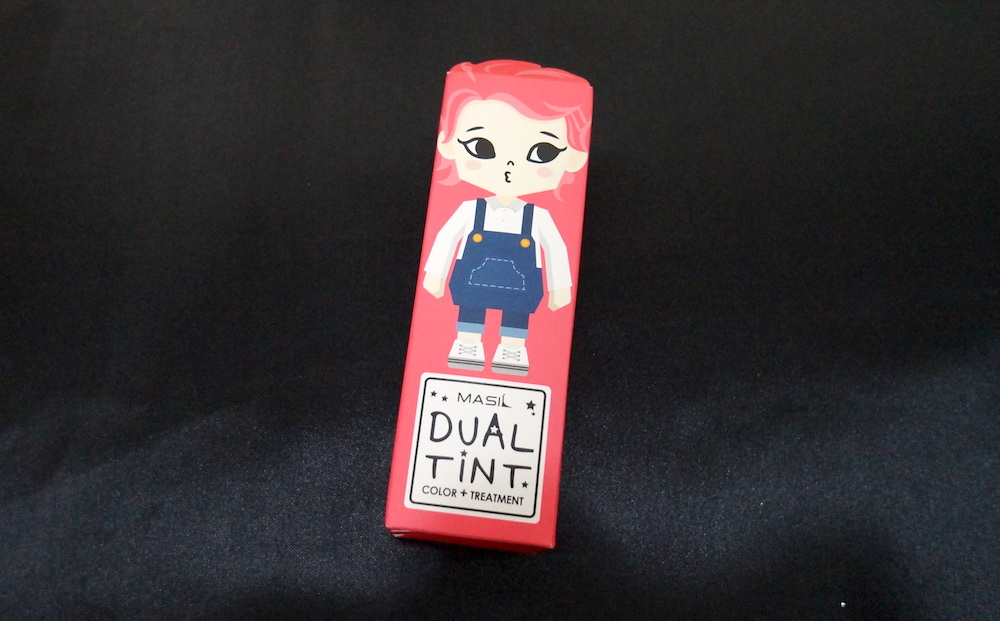 masil color treatment dual tint in 06 red pink
