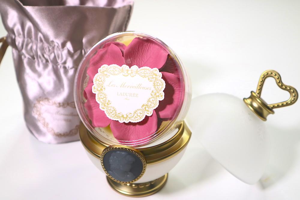 les merveilleuses LADURÉE face color rose laduree refill 04 pot