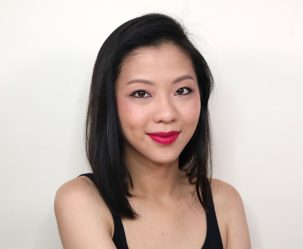THAT. LIP. COLOR.Velvet Matte Cream Lip Color in Brocade is striking! I had to scrape off some product and even then still had more than enough pigment to work with. These are the definite superstars of the bland.
