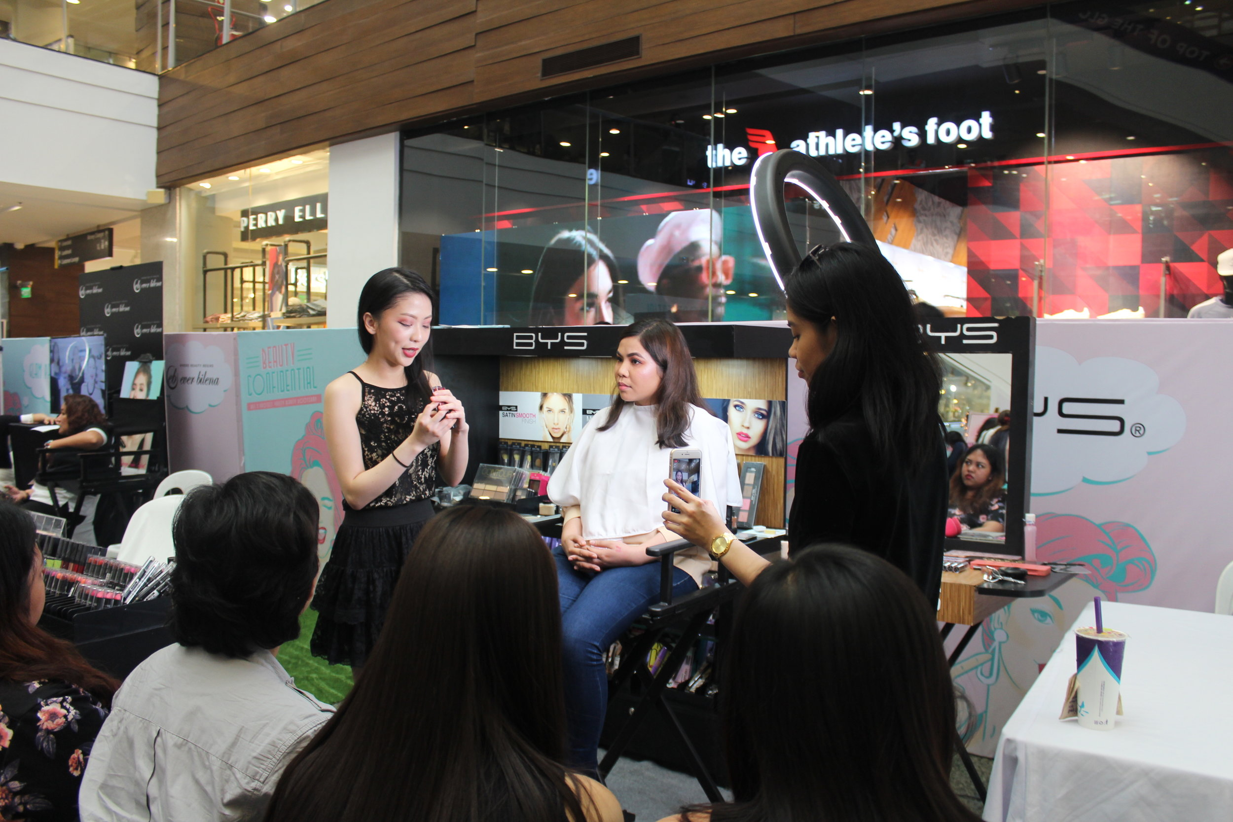 kristel yap makeup artist x bys philippines