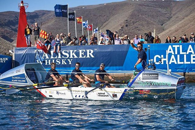 To the teams of TWAC 2018, on behalf of The Four Oarsmen, we wish you all a great crossing and, whatever your objectives, we hope you achieve them. . . It has been a mix of pride and jealousy seeing the photos and videos pop up of you all preparing in La Gomera. As Carsten so aptly puts it, the row really is a unique and amazing experience, and you'll miss it when it's done so make the most of it. . . The best advice we were given was look after each other, enjoy your teammates' strengths and forgive their weaknesses because we've all got both in abundance! . . #taliskerwhiskyatlanticchallenge #twac2018 #madebythesea #taliskerwhisky #lagomera #goodluck #workethic #oceanrowing #atlantic #staysafe