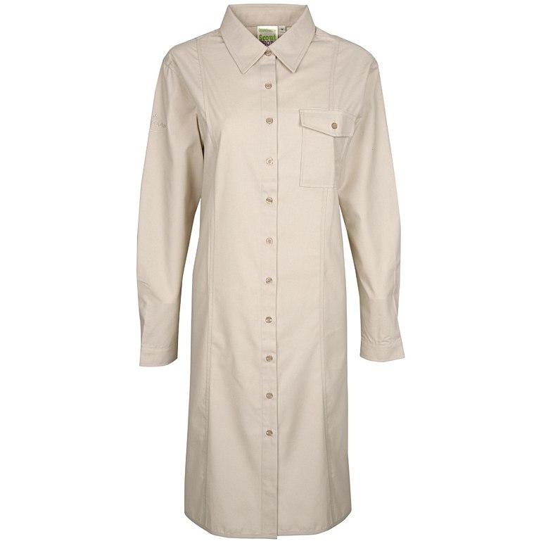 Long Length Heavyweight Uniform Blouse