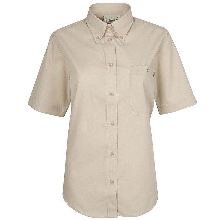 Short Sleeve Uniform Blouse