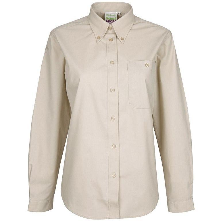 Long Sleeve Uniform Blouse