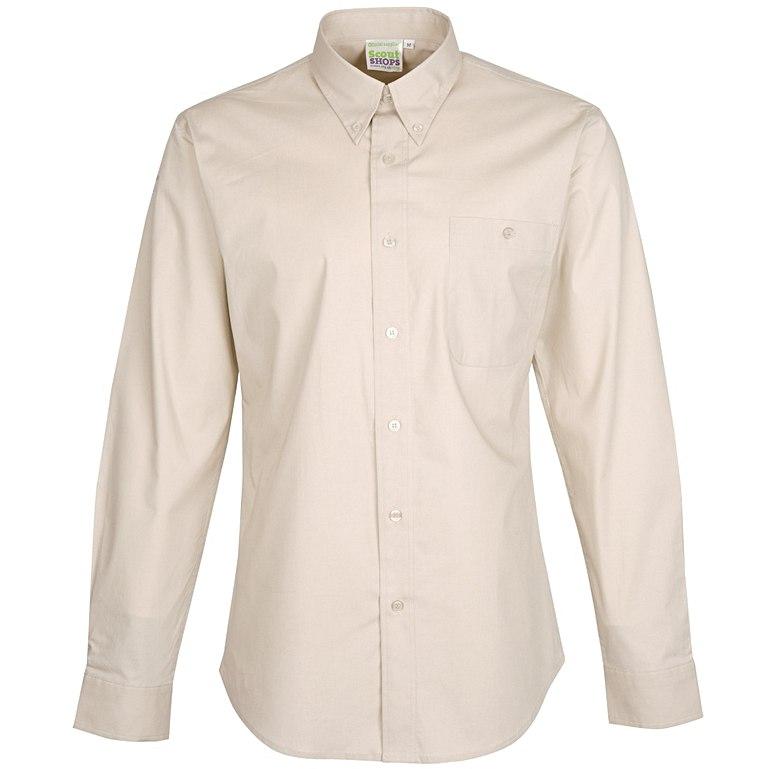 Long Sleeve Slim Fit Uniform Shirt