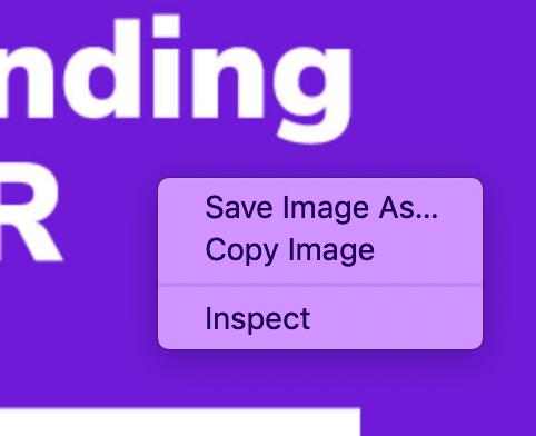 Option 1 - Save Image