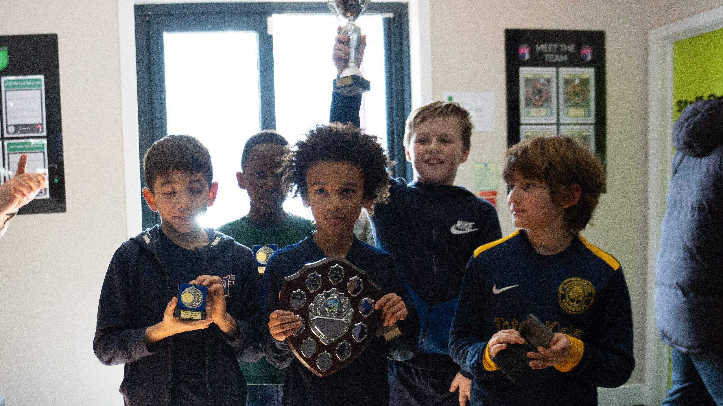 Cub Scout Winners: 25th Willesden - A Team