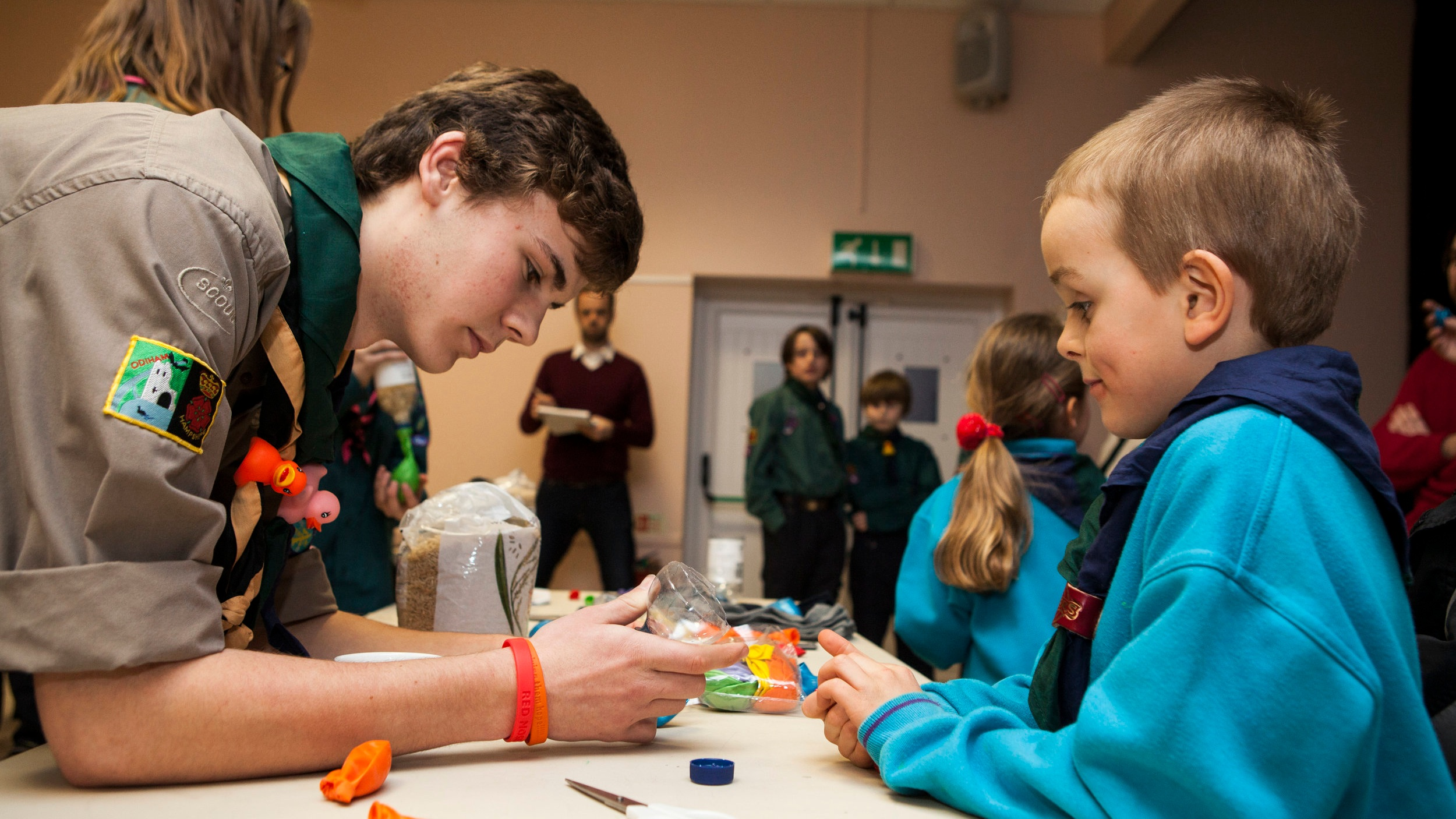 Volunteering with Scouts - There are lots of different ways you can complete the volunteering section of DofE within Scouting, not just being a young leader or adult leader.Found out more >
