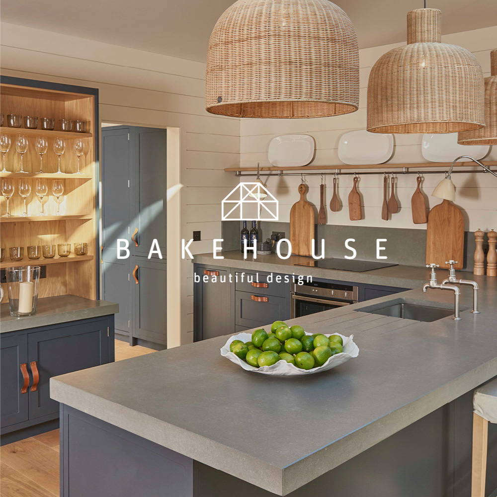 Bakehouse Kitchen:  Luxury Kitchen Designers → Brand Identity, Website & Collateral