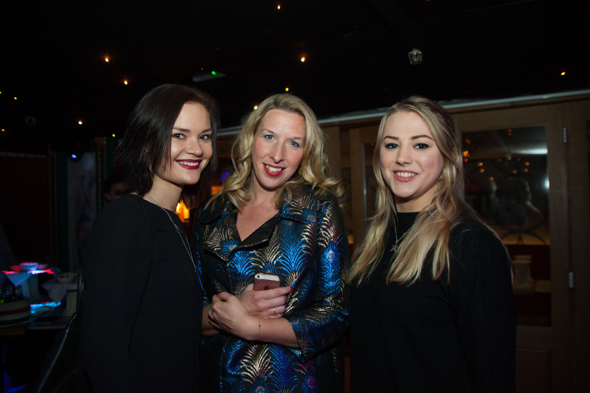 Guests from Metropolis Studios & Industry Group at the EBPR Party