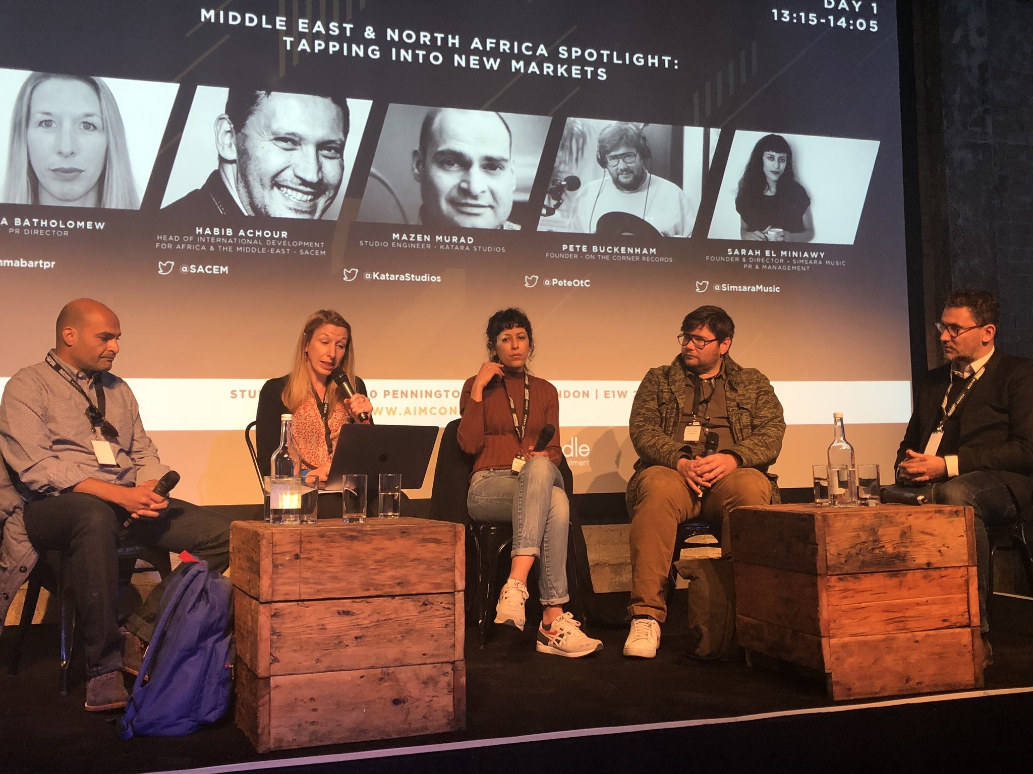 Moderating the MENA Spotlight Panel at AIM Connected