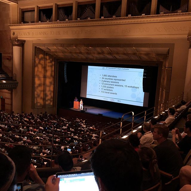 #worm19 kicks off!