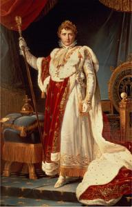 'Napoleon in Coronation Robes' ~ Francois Gérard