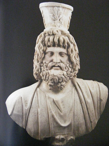 Serapis bust from Alexandria