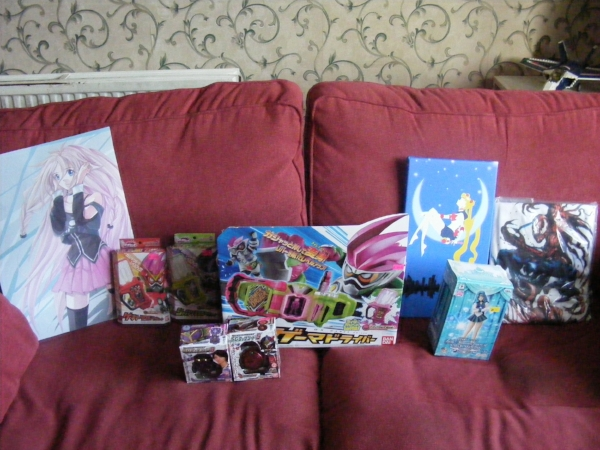 Loot from Hyper Japan