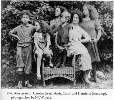Wyeth family photo (1922)