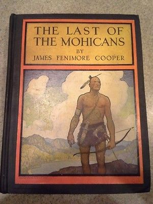 'The Last of the Mohicans' cover