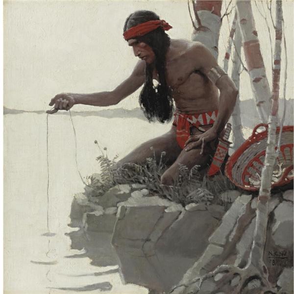 'Indian Fishing'
