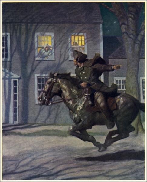 'Paul Revere's Ride' (1922)