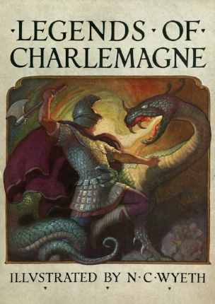 'Legends of Charlemagne' cover