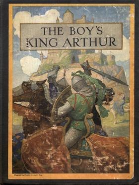 'The Boy's King Arthur' cover
