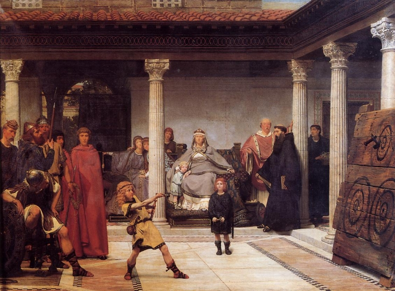 'The Education of the Children of Clovis' (1861)