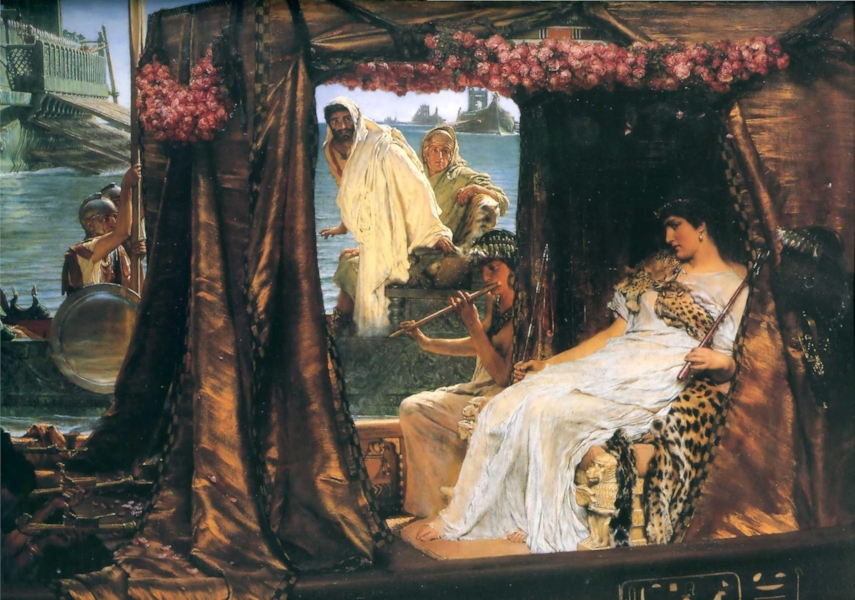 'The Meeting of Antony and Cleopatra' (1883)