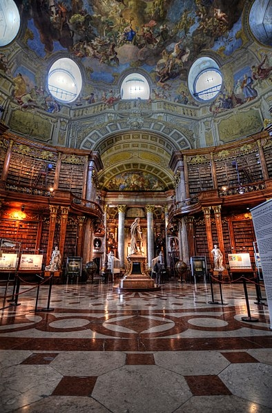 Austrian National Library, State Hall (photo credit: Richard Hopkins)