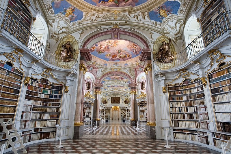 Admont Abbey Library (photo credit: Jorge Royan)