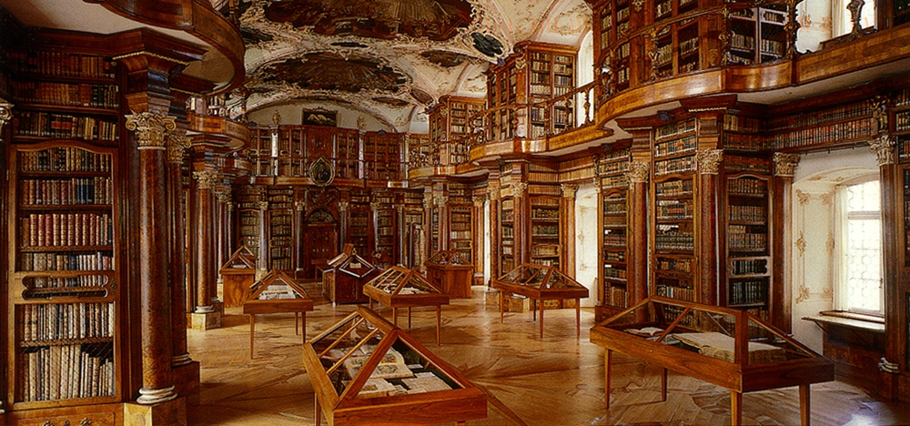 Abbey Library of St Gallen (photo credit: Stibiwiki, Wikipedia user)