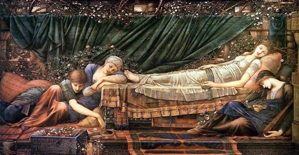 'The Sleeping Beauty' ~ Edward Burne-Jones