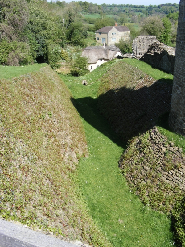 Outer wall, possible moat