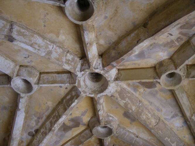 Murder holes, Bodiam Castle