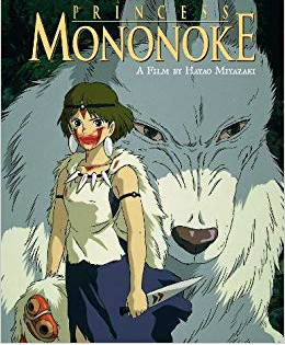 'Princess Mononoke' - San and Moro, the wolf goddess
