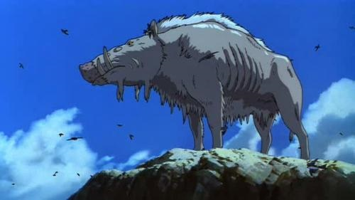 Lord Okkoto, the boar god