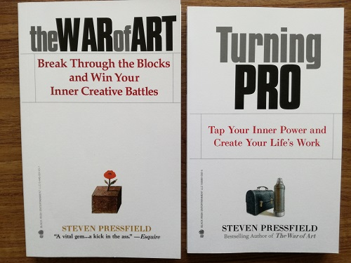 'The War of Art' and 'Turning Pro' by Steven Pressfield