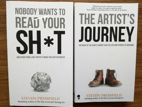 'Nobody Wants to Read Your Sh*t' and 'The Artist's Journey' by Steven Pressfield