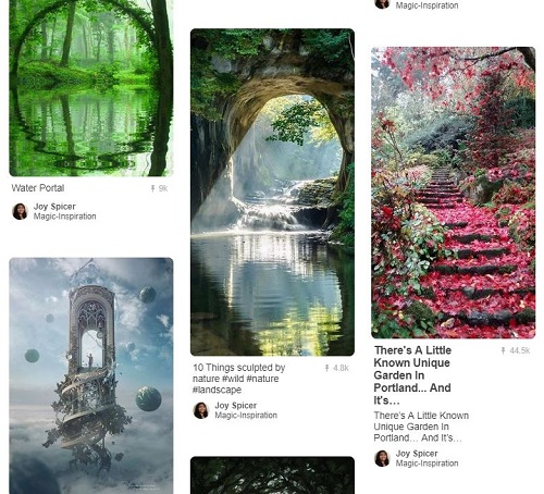 One of my Pinterest boards