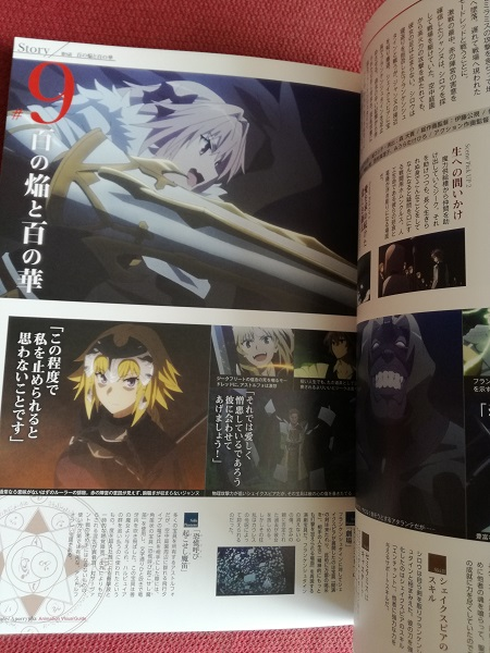 A page from 'Fate/Apocrypha'