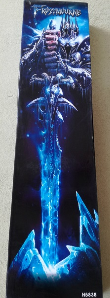 The box containing Frostmourne