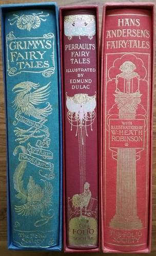 My current collection of fairy tales