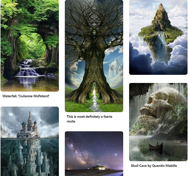 My '   Magic-Inspiration   ' Pinterest board