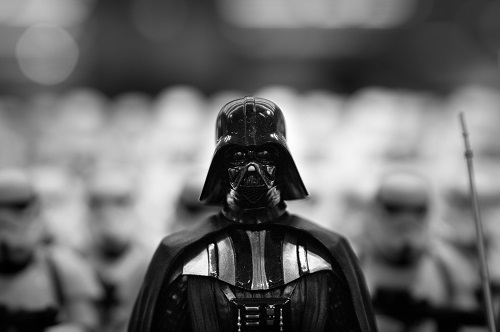 Darth Vader, a layered villain (Image by '   Volturdu   ' on Pixabay)